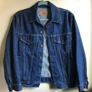 Plain Pockets Denim Jacket